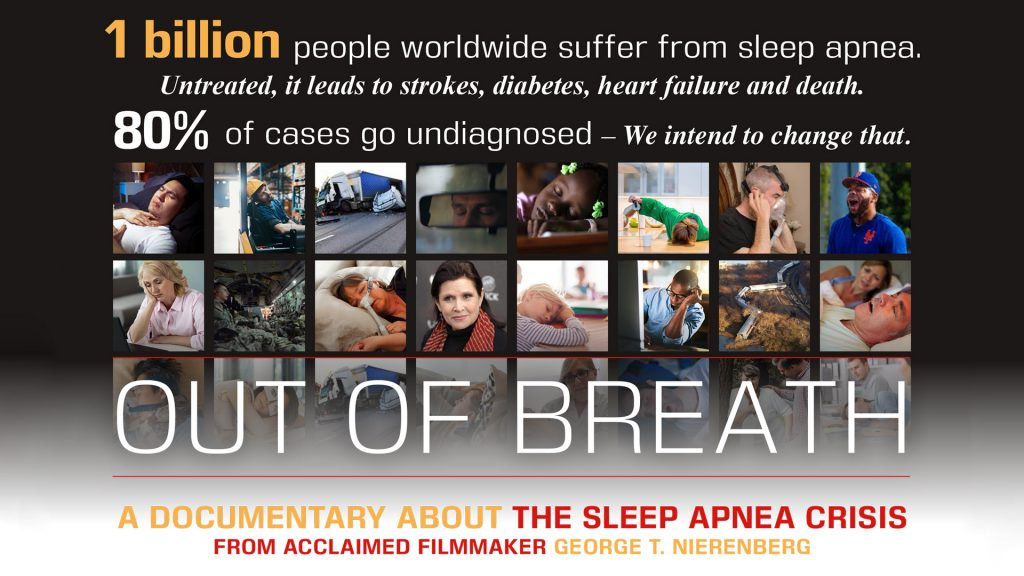 Sleep Apnea Film Out of Breath